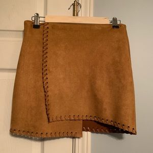UO faux suede skirt